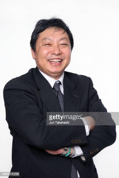 portrait o Japanese business man