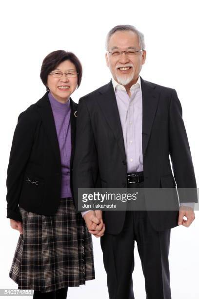 portrait o Japanese couple