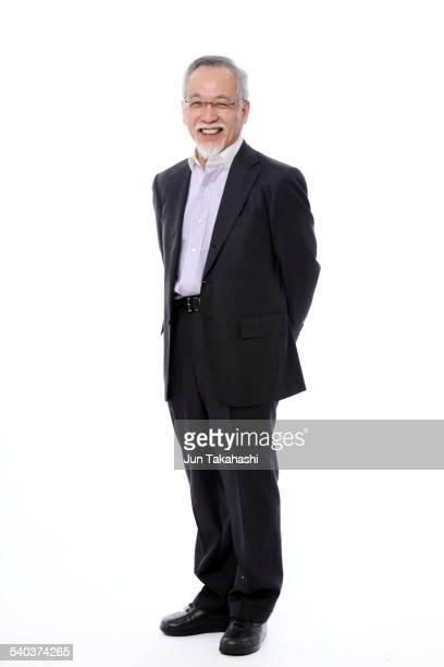 portrait o Japanese old man