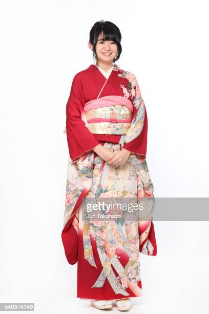 portrait o Japanese woman