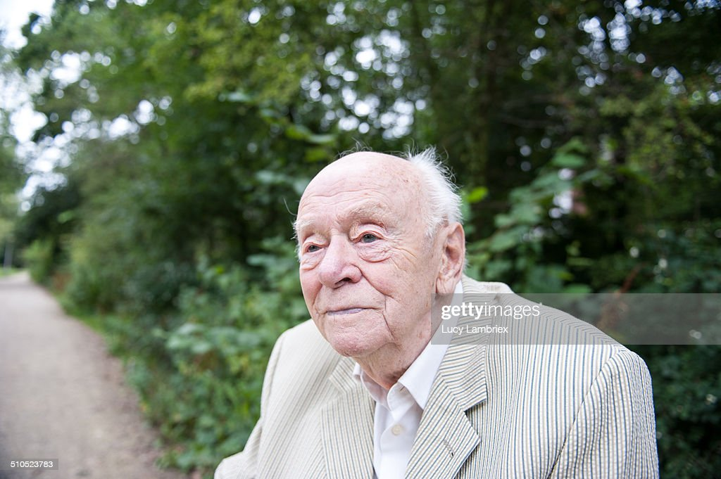 Portrait of 94-year-old man