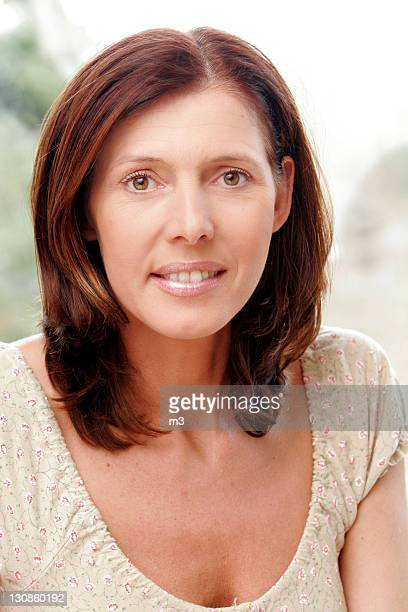 Portrait of a 45 year old woman