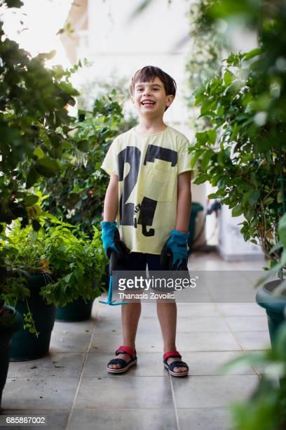 Portrait of a 6 year old boy