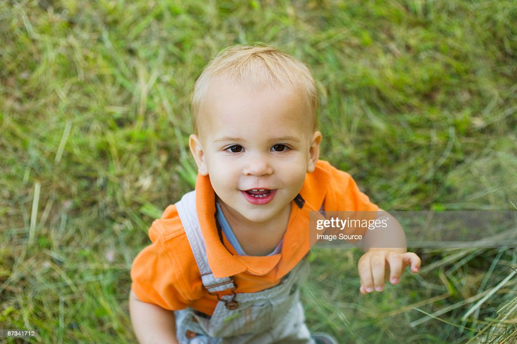 Portrait of a baby boy : Stock Photo