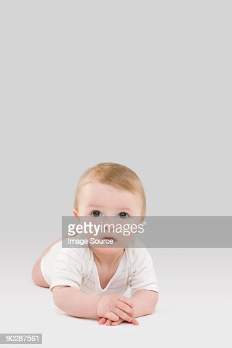 Portrait of a baby : Stock Photo