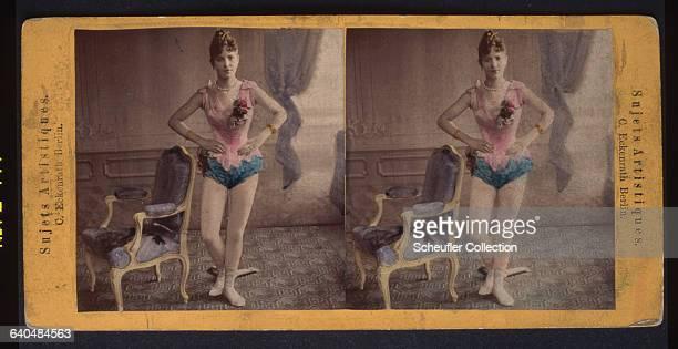 A portrait of a ballet dancer ca 18751890