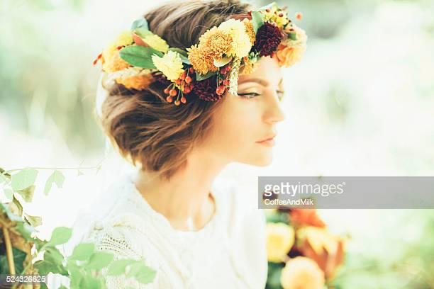Retrato de una chica hermosa