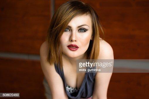 portrait of a beautiful sexy women : Stock Photo