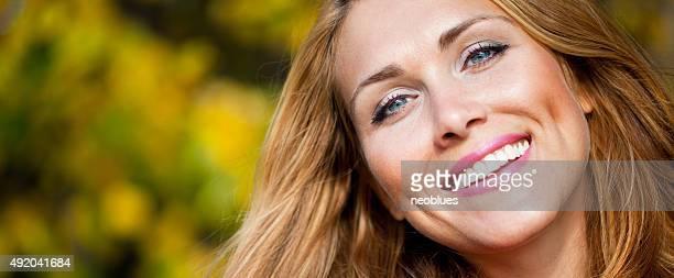 Retrato de una mujer bella