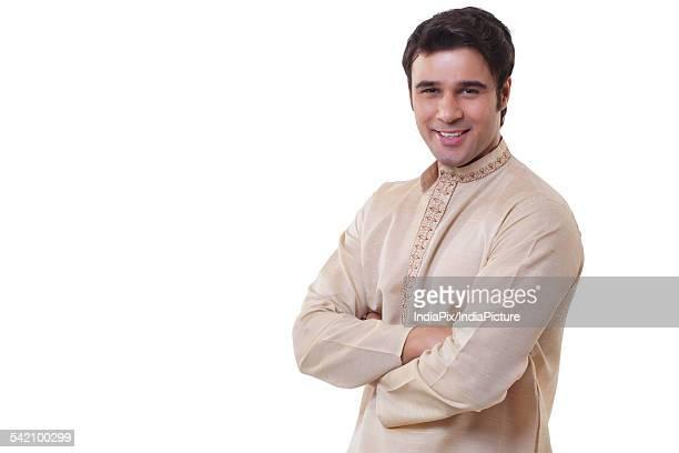 Portrait of a Bengali man