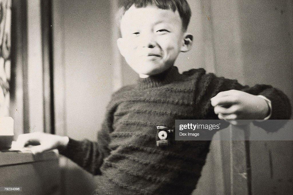 Portrait of a boy : Stock Photo