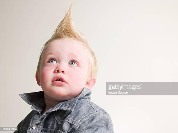 Retrato de um Menino com um quiff
