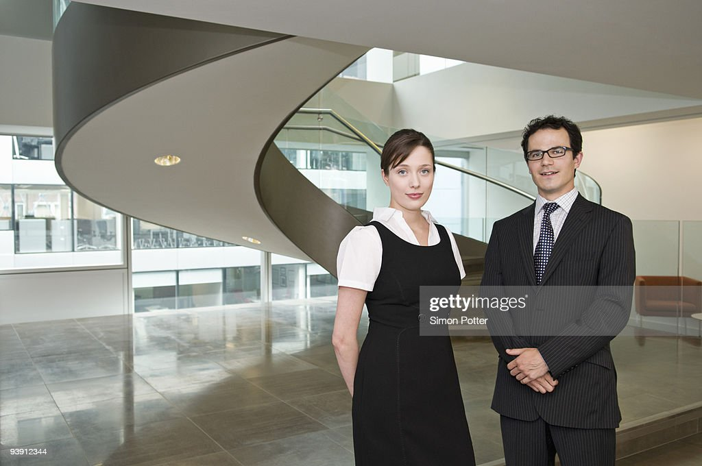 Portrait of a business couple : Stock Photo