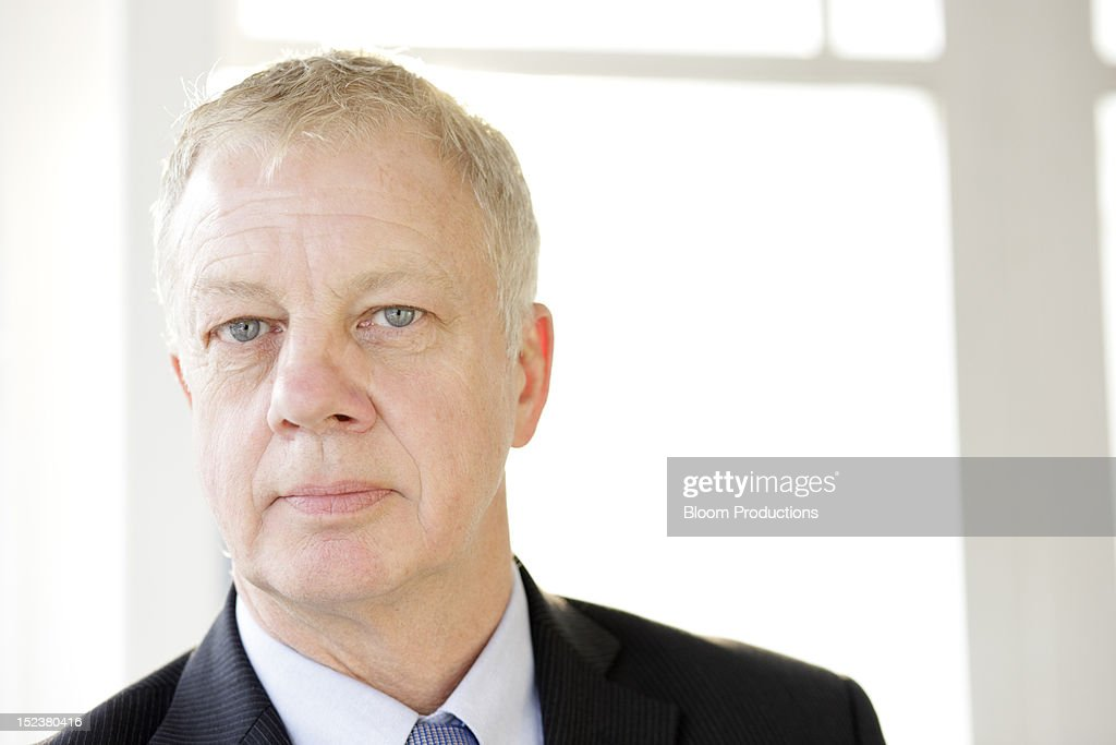 portrait of a business man : Stock Photo