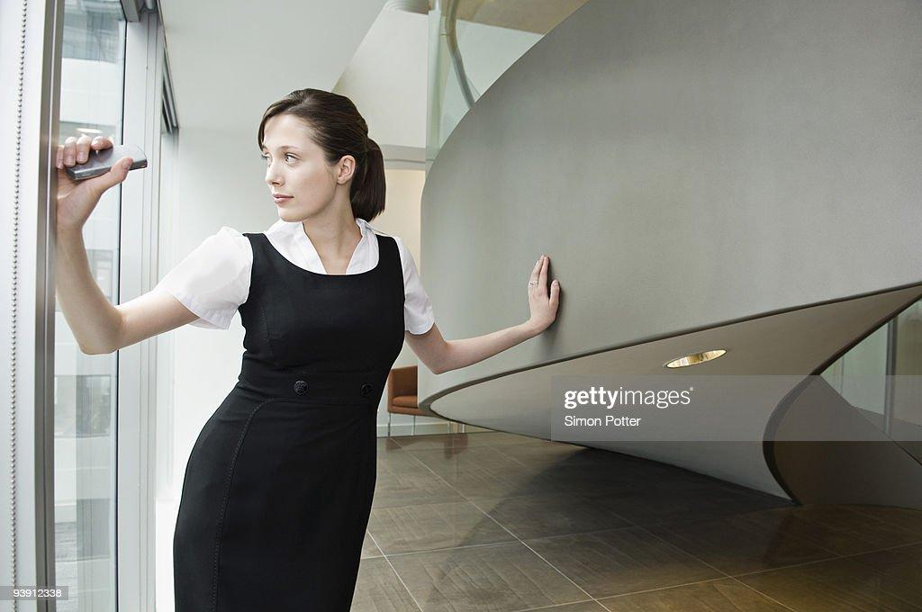 Portrait of a business woman : Stock Photo