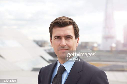 Portrait of a businessman. : Stock Photo