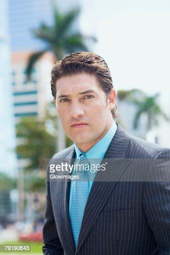 Portrait of a businessman : Foto de stock