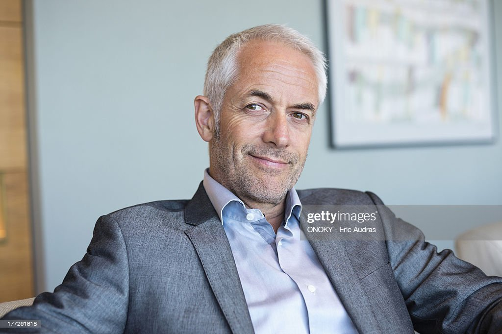 Portrait of a businessman smiling