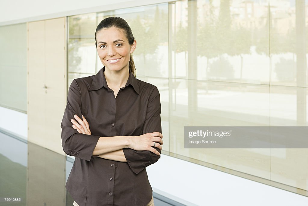 Portrait of a businesswoman : Stock Photo
