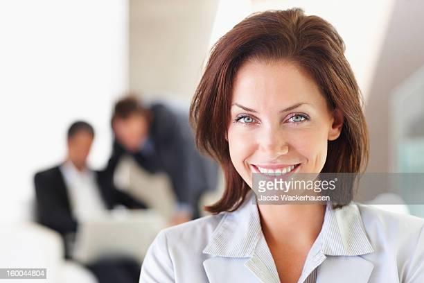 Porträt einer Geschäftsfrau Lächeln