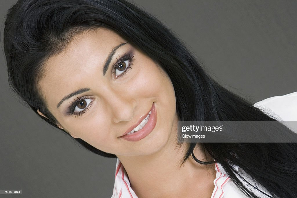 Portrait of a businesswoman smiling : Stock Photo