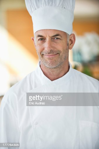Portrait of a chef smiling