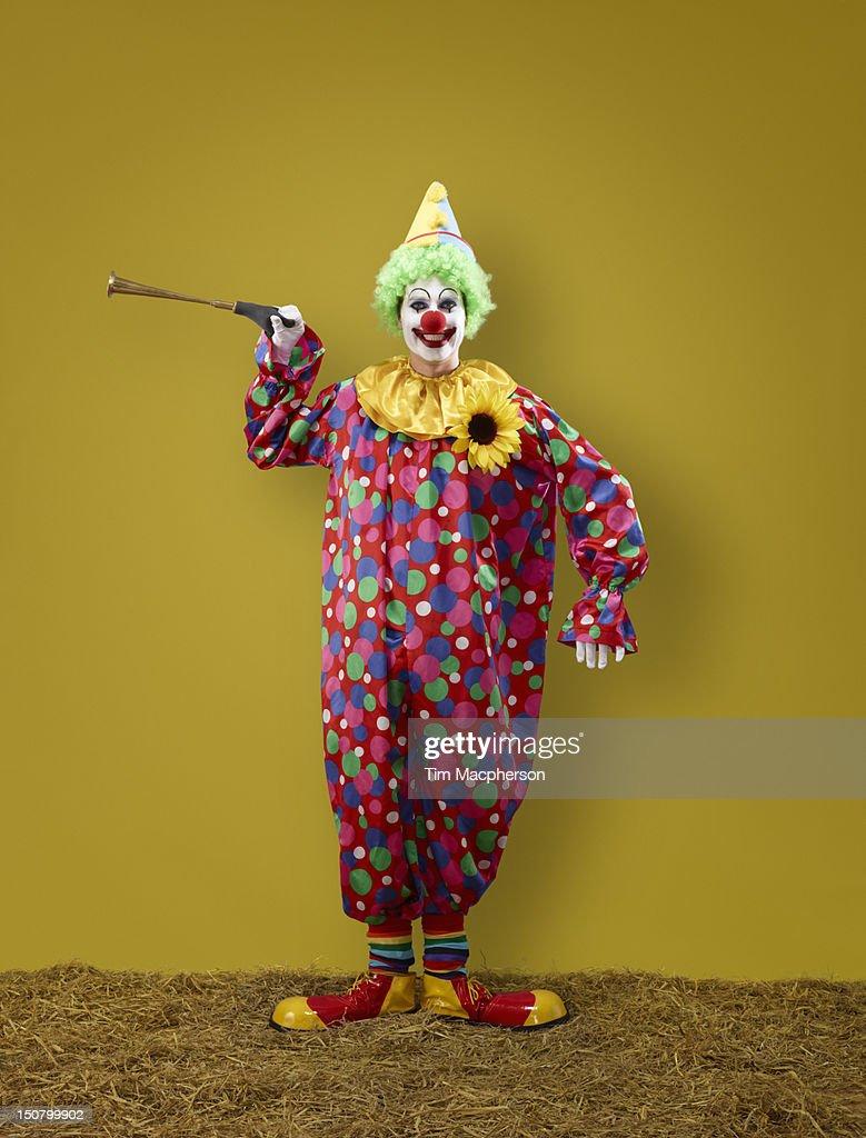 Portrait of a Clown