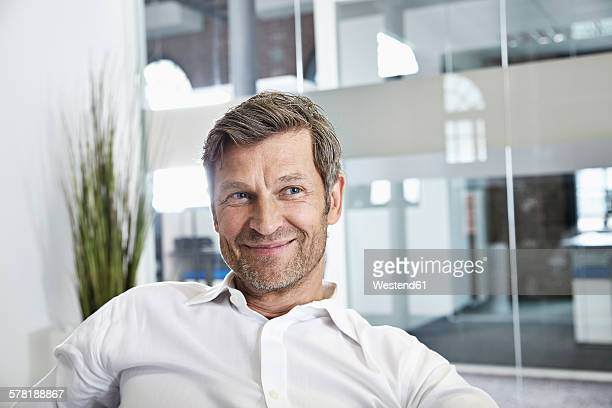Portrait of a confident businessman in office