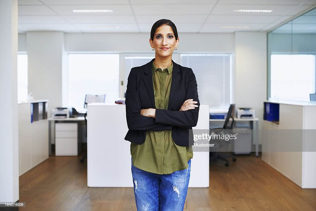 Portrait of a confident businesswoman : Stock Photo