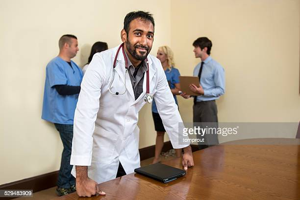 Portrait of a Confident Doctor
