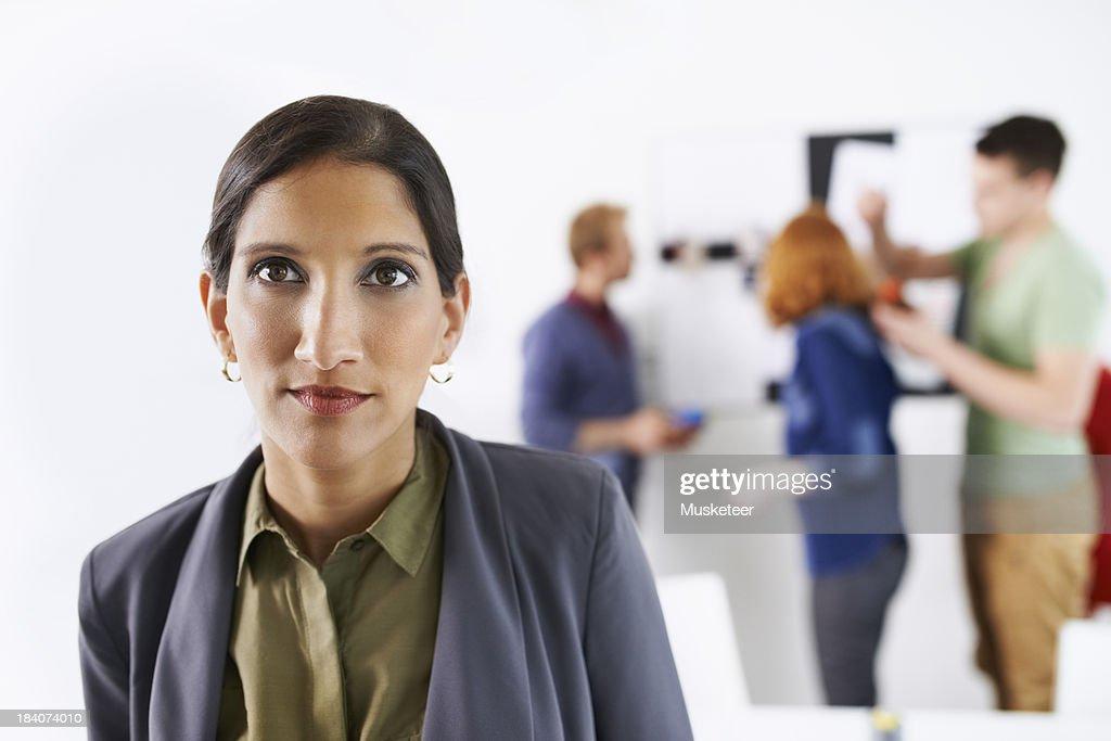 Portrait of a creative businesswoman : Stock Photo