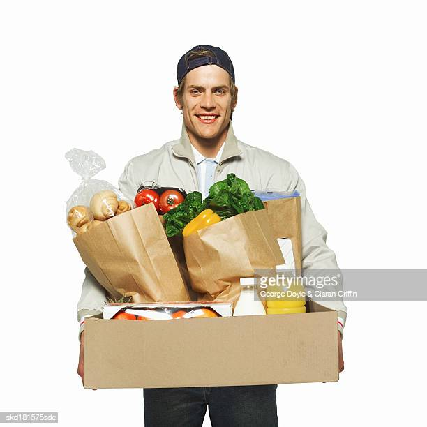 Portrait of a delivery-man