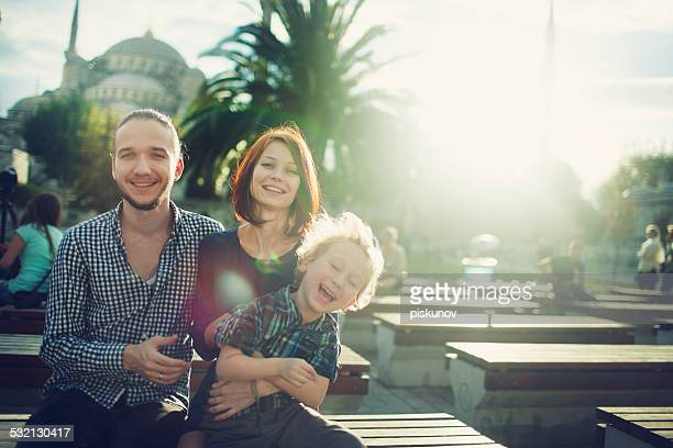 Portrait of a Family in Istanbul