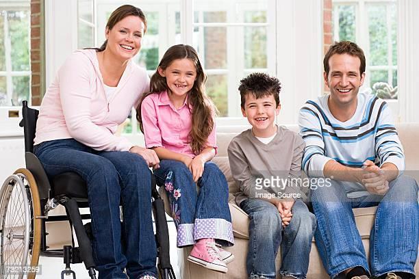 Porträt einer Familie