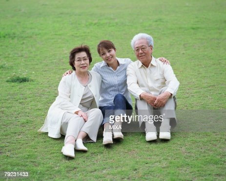 Portrait of a family : Stock Photo