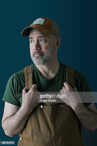 Portrait of a farm worker