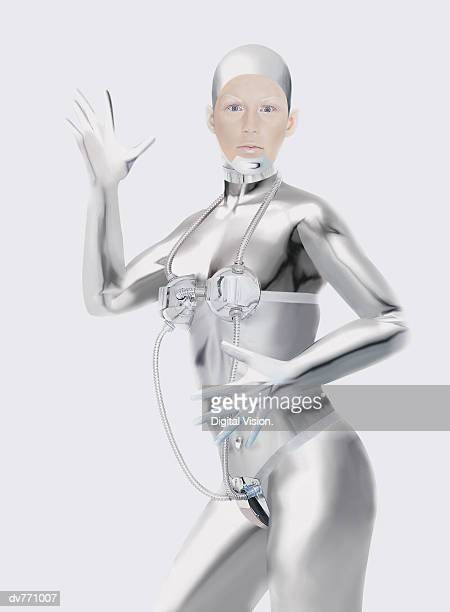 Portrait of a Female Android