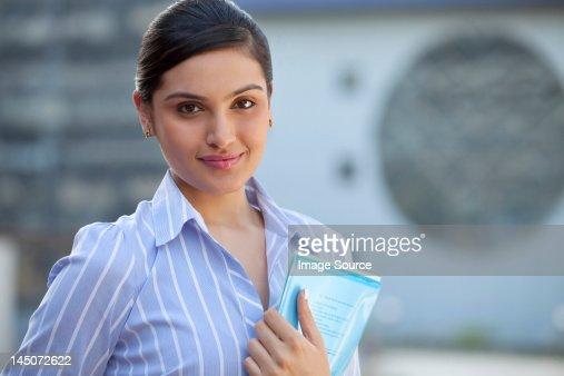 Portrait of a female executive : Stock Photo