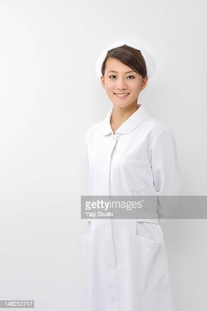Portrait of a female nurse,smiling