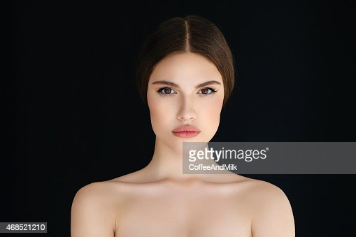 Portrait of a fresh and lovely woman