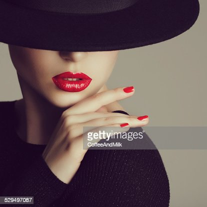 Retrato de uma mulher doce e adorável