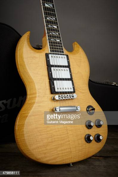 guitare gibson sg photos stock photos and pictures getty. Black Bedroom Furniture Sets. Home Design Ideas