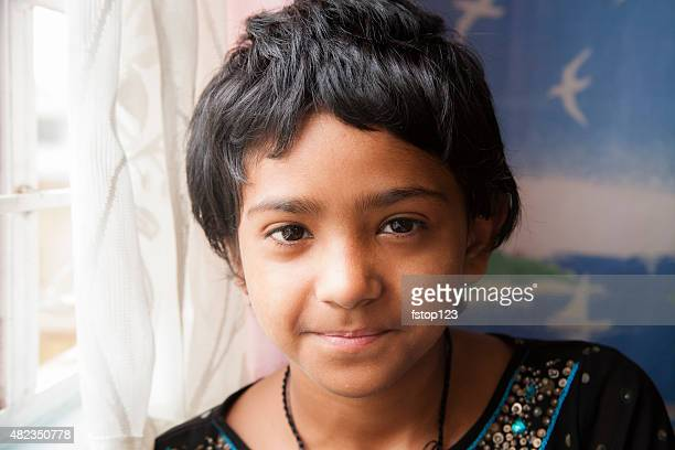Portrait of a girl from northeastern India.