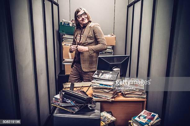 Portrait of a Goffy Office Worker
