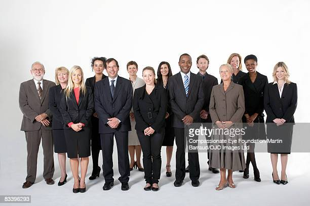 Portrait of a group of business people