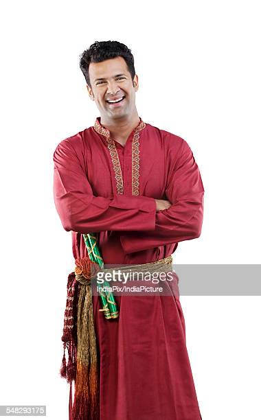 Portrait of a Gujarati man smiling