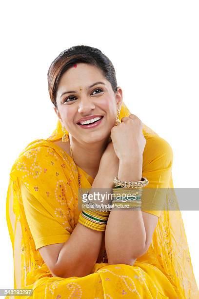 Portrait of a Gujarati woman
