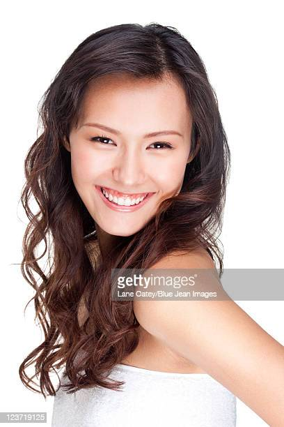 Portrait of a Happy Beautiful Young Woman