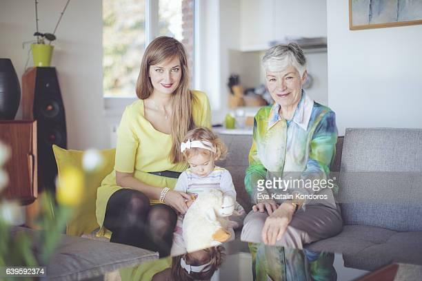 Porträt von eine glückliche Familie