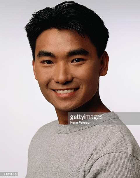 Portrait of a Happy Teen Boy